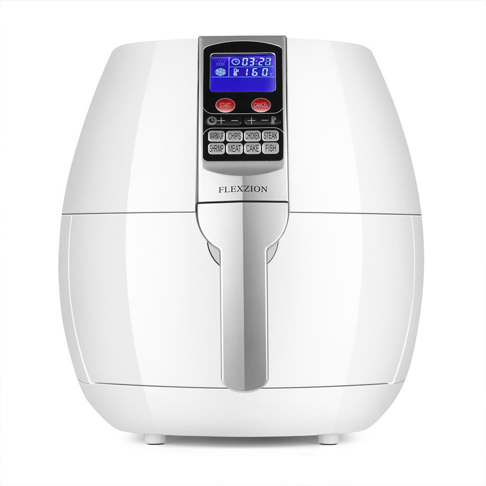 electric air fryer cooker healthy oil less dry fryer hot air steam fryer with