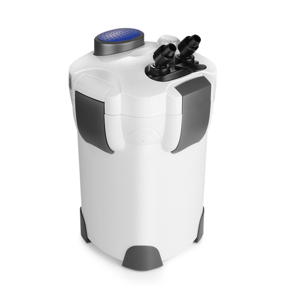 Flexzion hw 303b canister filter with uv sterilizer for Fish tank filtration